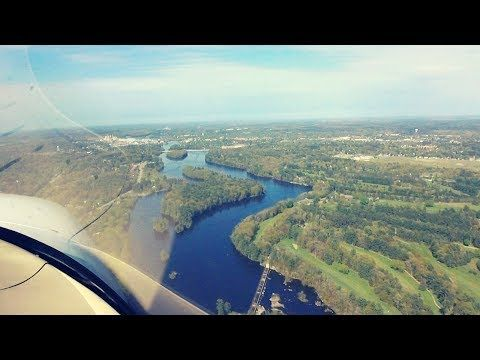 Wisconsin Rapids Flyover in a Cirrus SR20 - Chick In A Plane - YouTube