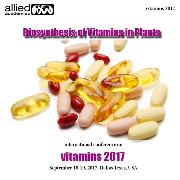 Biosynthesis Of Vitamins In Plants. Vitamin B6 is an essential# metabolite in all living beings.