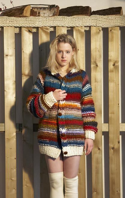 Stashbuster chunky sweater - this one by Maiami