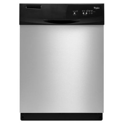 Front Control Dishwasher In Universal Silver Offers An Easy To Use Cycle  Selection. It Is Energy Star Qualified To Save Energy, Water And Reduces  Your ...