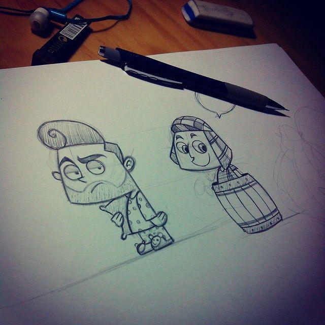 #Sketch #Personajes #Dibujos