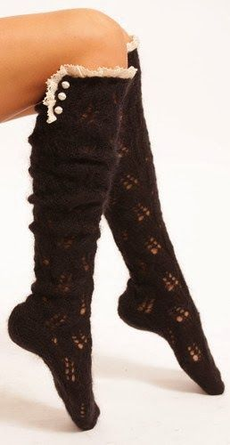 Stylish and comfy socks style