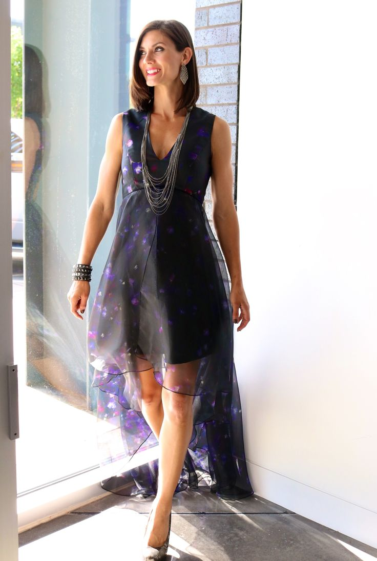 Nha Khanh Sadie V Neck Hi Low Gown // gown // fun + flirty // Liberté