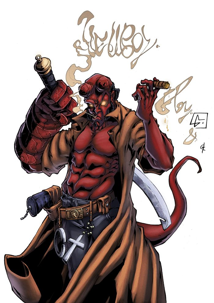 hell boy comic