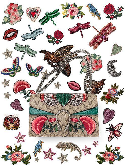Gucci lance son service de personnalisation broderie sacs