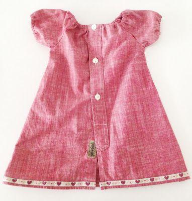 Made by me: Kjole av bestefars skjorte