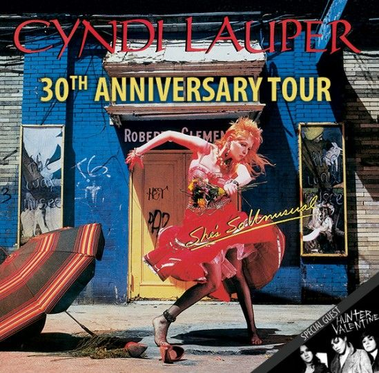 PRESALE OFFER: Cyndi Lauper's She's So Unusual Tour on Tue, 11/05 at TPAC's Jackson Hall | www.nowplayingnashville.com #presale #music