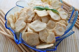 Some unleavened breads are crispy and cracker-like.