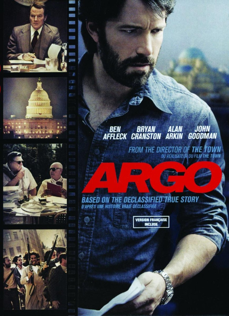 "The Oscar winner for Best Picture at this year's Academy Awards, ""Argo"" is a dramatic thriller directed by and starring Ben Affleck.  Based on the true-life events related in CIA operative Tony Mendez's book ""The Master of Disguise"", the movie reveals the 1980 joint CIA-Canadian secret operation to rescue six American diplomats from Iran during the Iran hostage crisis.: Movies Reveal, Modern Movies, Movies I D"
