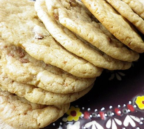 I've just finished making these cookies and they are soo good! I've only made cookies a couple of times before and usually am disappointed. So this time I searched on blogs looking for a Millie's Cookie style cookie (yummy) and stumbled upon this. And I'm so glad I did. These