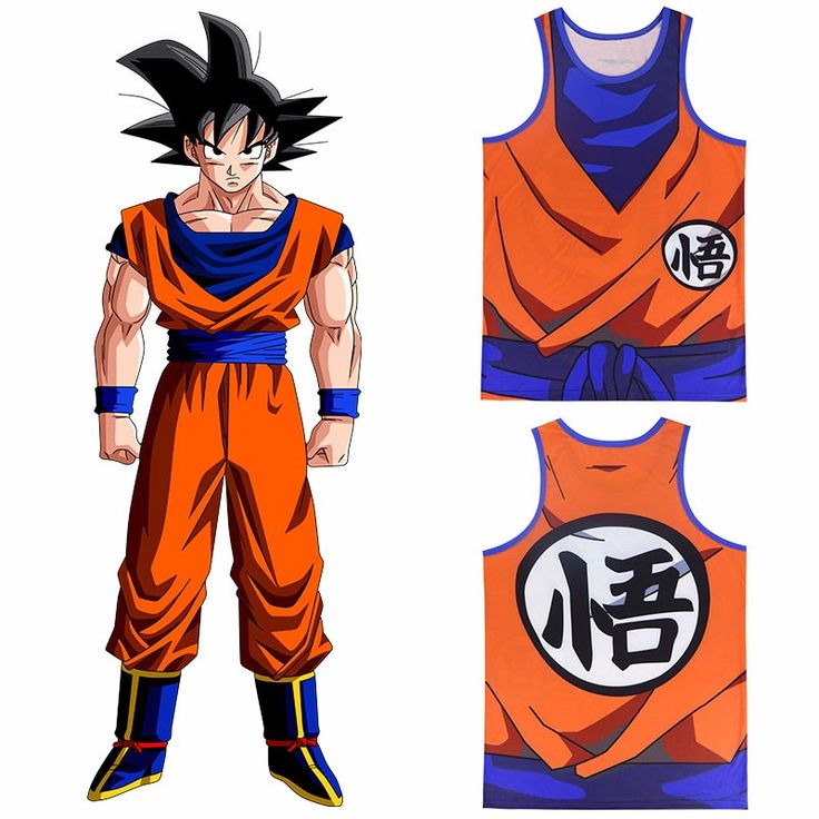Dragon Ball Z Training Tank Tops