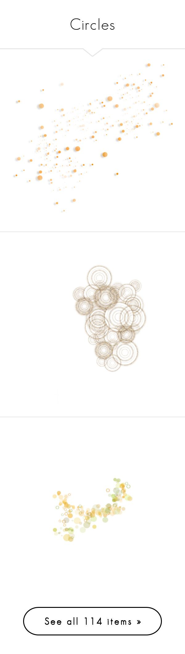 """""""Circles"""" by mlkdmr ❤ liked on Polyvore featuring circle, circular, round, effects, steampunk, backgrounds, fillers, embellishments, texture and circles"""