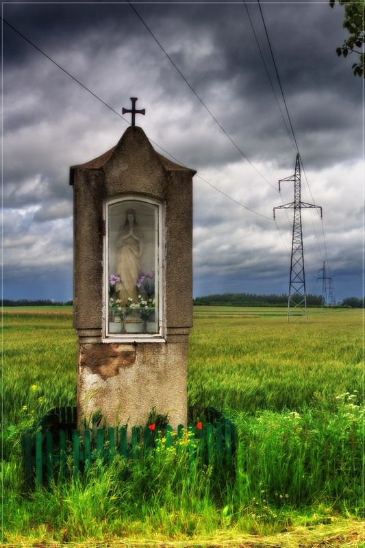 Polish Wayside Shrine, a photo from Pomorskie