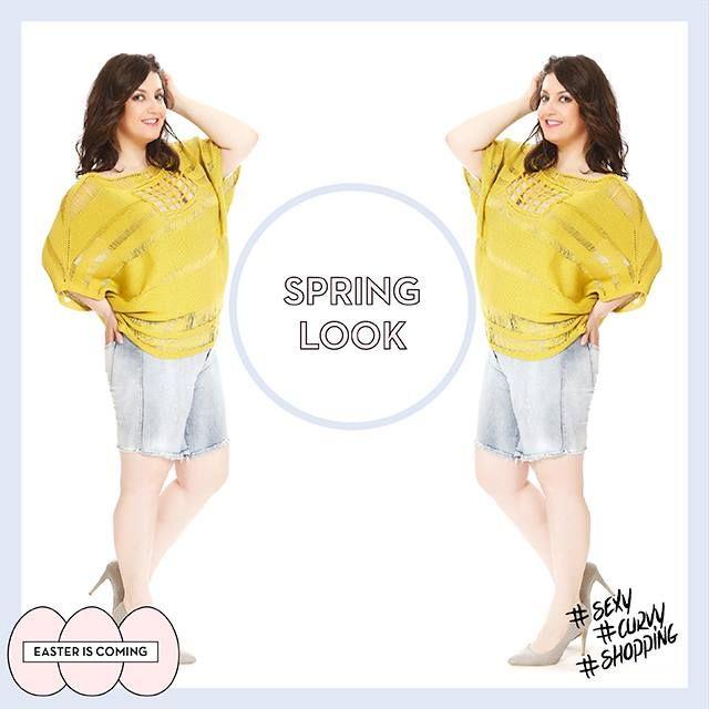 #spring #fashion #colours #jeans #sexy #curvy #shopping #plussize #plussizefashion