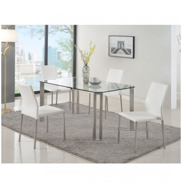 Rhonda 5 PC Dining Set By Chintaly Imports