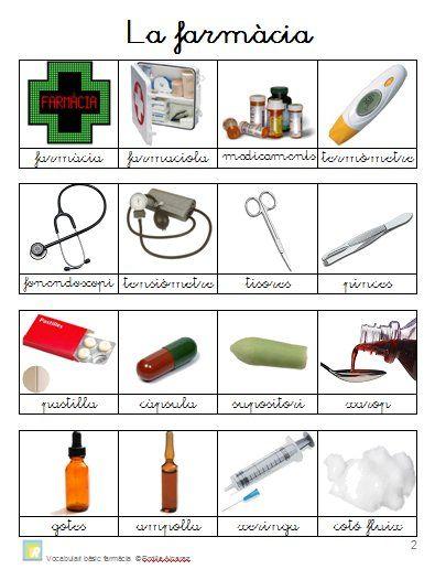Vocabulari Farmàcia