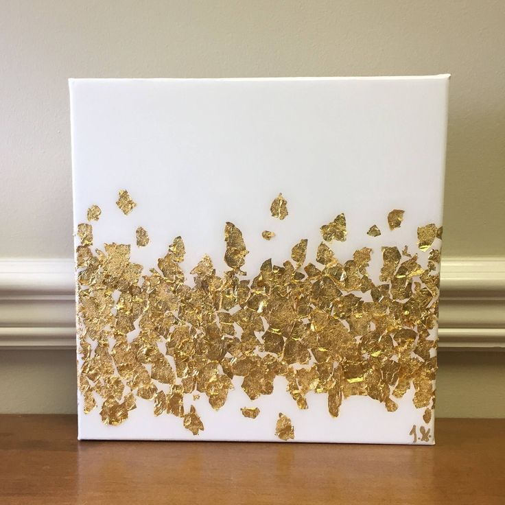 This item is an acrylic painting with gold leaf accents, with a glass-like resin coating that adds a glossy shine to the art. The coating works to bring out all of the nuances of the color and accent the gold leaf! **This exact painting is sold, but a custom piece can be made upon request, and in your desired color scheme! Price is per painting. Please contact me to discuss specific sizes and pricing.  **Paintings in room settings may not be to scale, please be sure to check the measurements…
