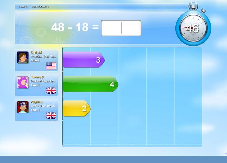 Mathletics screenshot
