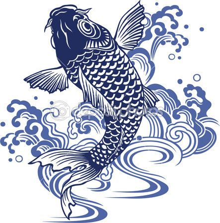 1000 images about carp orname on pinterest tattoos for for Japanese carp art