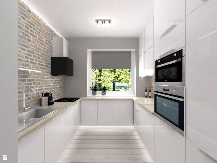 Kuchnia styl Skandynawski - zdjęcie od Studio Projektowe Atoato