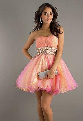chiffon tri-tone dress - Szukaj w Google