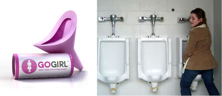 For women who aren't yet aware, there is now a solution to our eternal suffering of having to sit or squat to pee. It's called the Go-Girl, and it's essentially an oblong funnel-shaped like a vagina. For $10 on Amazon, women can now stand while peeing, and it can help myriads of women including: Active …