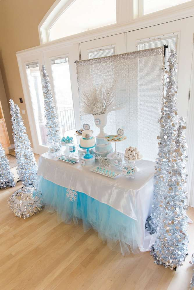 Tips para decorar una fiesta de cumpleaños Frozen