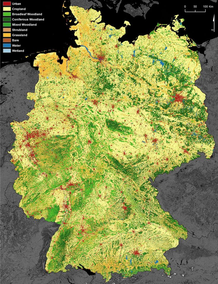 Land use Germany 1128 best geo images