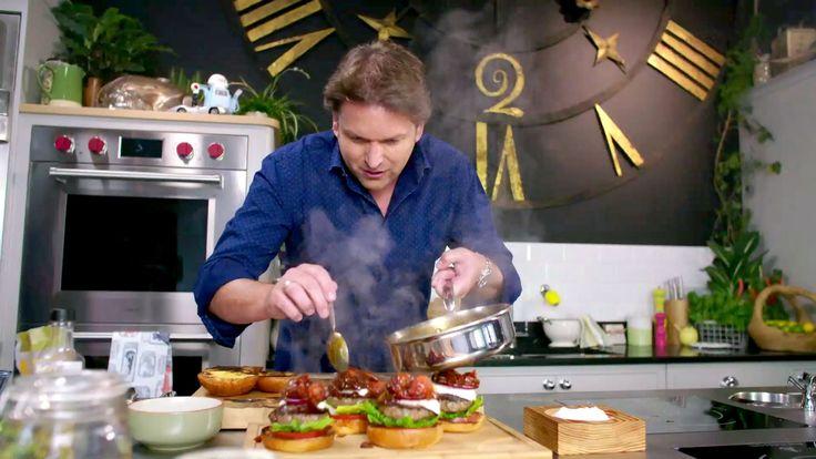 James Martin's Ultimate Summer Burger