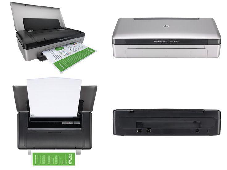 Impresora HP Officejet 100 Mobile (CN551A)