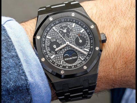 Liked on YouTube: Best AP Royal Oak Watch Price
