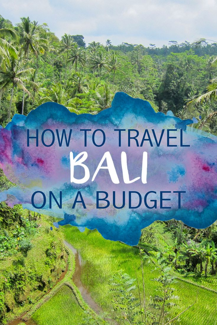 Bali is a super budget-friendly destination, so it's pretty easy to visit the island and not have to worry about breaking the bank. Though often overrun with tourists, Bali is still surprisingly affor