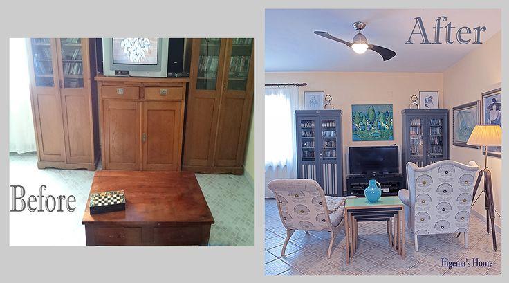 Before & After Refurbished @ Ifigeniashome