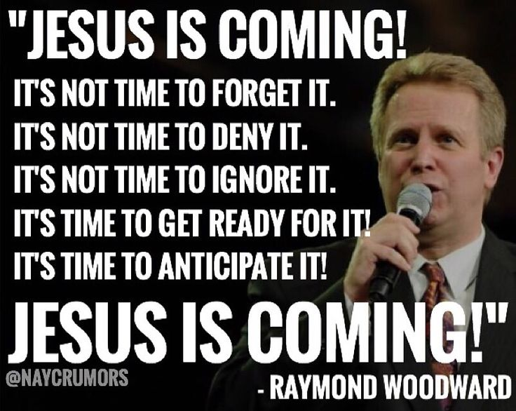 Jesus Christ IS coming soon. He is coming after those who are watching for Him.