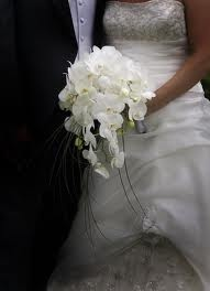 white orchid wedding bouquets - Google Search