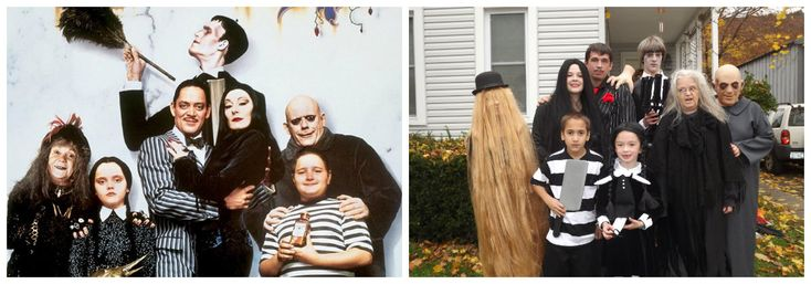 Déguisement Famille Addams