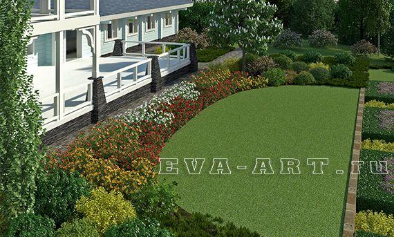 3D Визуализация, Web-Дизайн, Воплощение - Eva-Art Портфолио