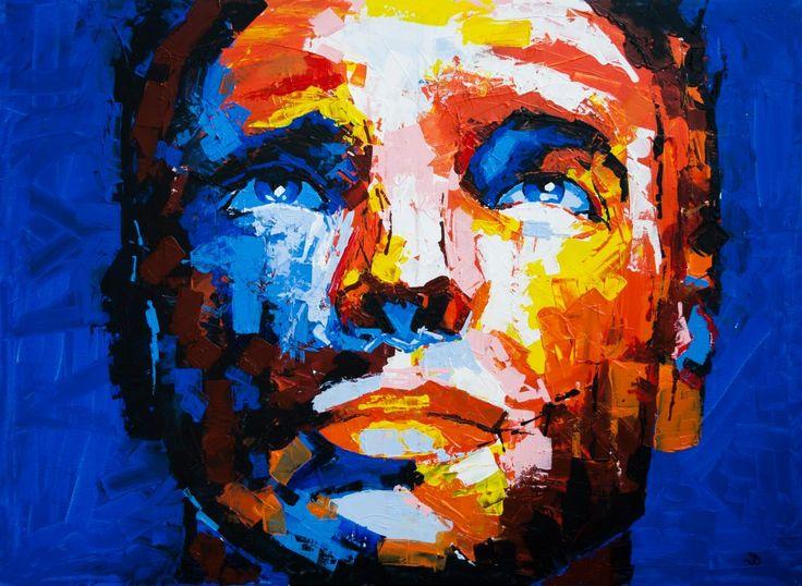 (Close III) Rainmaker - Acrylic on canvas (60 x 80cm)