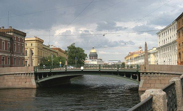Kiss bridge ,Saint Petersburg