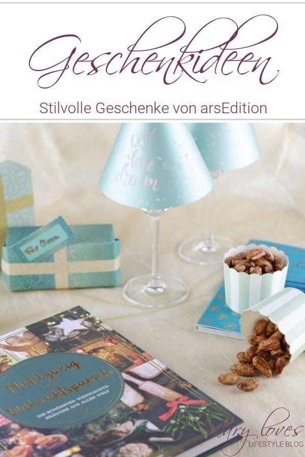 Vorfreude auf die Weihnachtszeit & stilvolle Geschenkideen von arsEdition