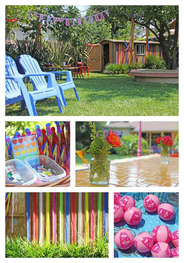 Entertaining Ideas: Princess Party. Princess Party ActivitiesPool ...