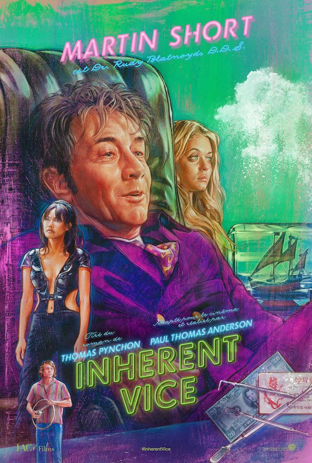 Inherent Vice #Poster #movieposter #cinema