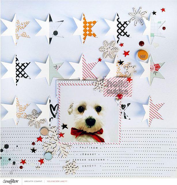 Csillagos vágófájl - Stars cutfile freebie