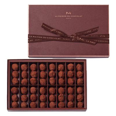 Truffes chocolat nature 48 pièces