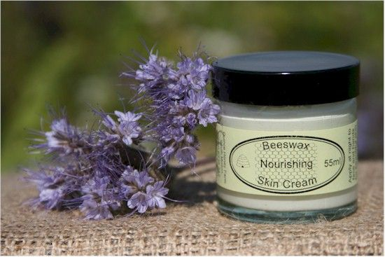 Nourishing Cream - Soar Mill Seeds  Formulated for dry skin, this cream can also be beneficial to eczema and psoriasis sufferers. A heavy, rich cream containing beeswax with a mineral oil base.   Apply at night to face and hands for beautiful skin, may also be applied to particularly dry areas such as the elbows or knees.   Made and packaged in Devon, UK.   55ml glass pot, with a plastic screw top lid.