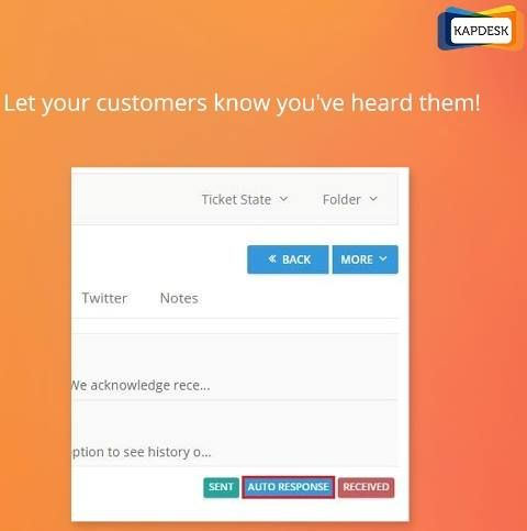 Automated responses for your unanswered tickets!