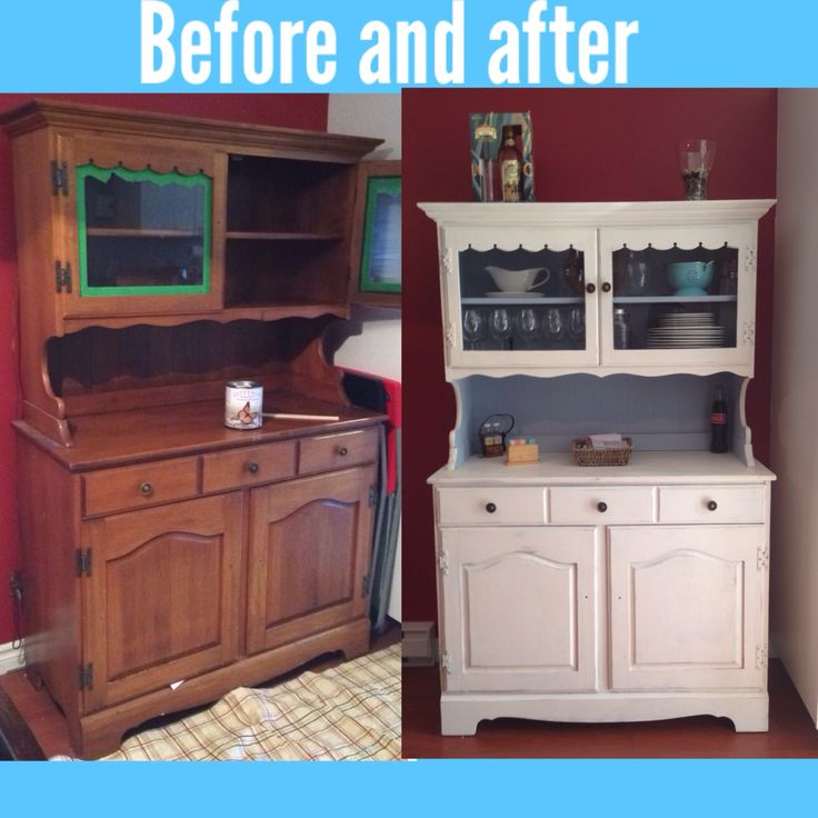 Finally did it my kitchen hutch!!!  I used cottagep paint fo the white and hated the texture Finally I realize I prefer my home maif recipe with platre de paris and Behr paint much nicer the blue!! Texture love it!! Satisfied for now!! Will redo it again later