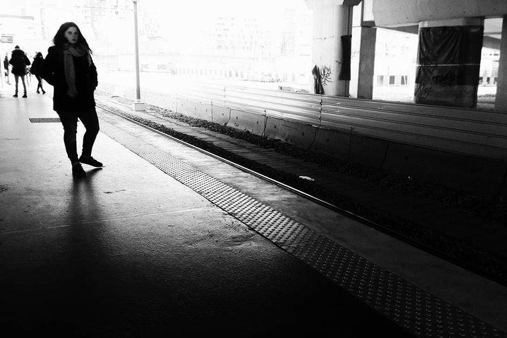 #nanterre #universite #gare #station #rera #waiting #attente