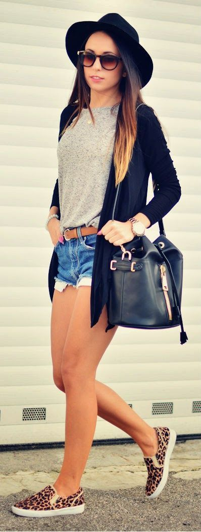 Ideas para armar tus outfits con shorts