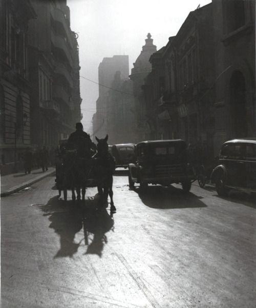 Shadows in Bucharest--Nicolae Ionescu (1903-1975)